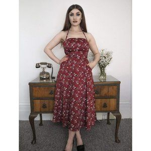Collectif Sandy Bandana Flared Dress